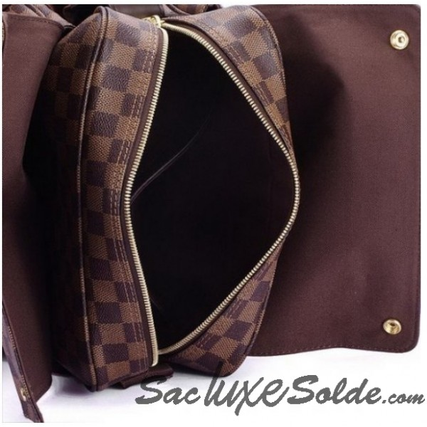 f13f1c607822 Sacs business Gris  u2013 Louis Vuitton N41123 Porte-Documents Voyage GM  Homme Gris sac lv homme